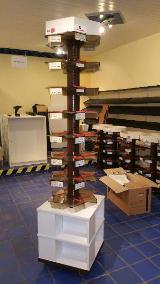 Verkaufsbuchständer Höhe 211cm