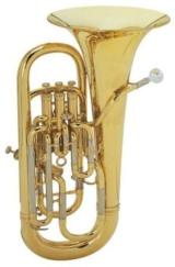 Besson Sovereign Euphonium, Profiklasse, Modell 968-L, voll kompensiert, inkl. Koffer und Mundstück