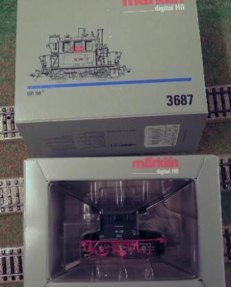 Märklin kleine Rangierlok 3387