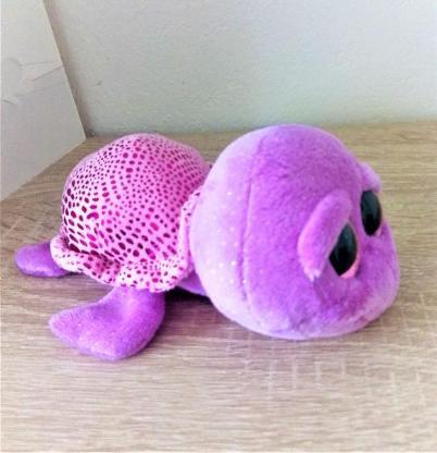 Süße ,lila Schildkröte Slowpoke - Holdorf