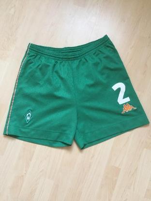 Original Werder Trikot-Hose grün - Bremen