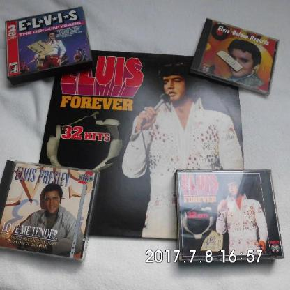 Elvis Vinyl und CD's - Bremen