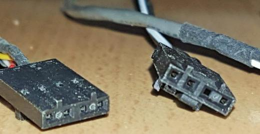 4-Pin MPC-2 CD-ROM/DVD PC Audio Sound Kabel/Ton-Ton-Kabel Intern - Verden (Aller)