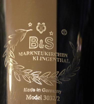 Original B&S Goldmessing Bb Tenorhorn, Modell 3032/2 mit Gigbag - Bremen Mitte