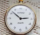 Wunderschöne Taschenuhr (goldfarbig, poliert), für Sammler, Bastler oder Uhrmacher! - Diepholz