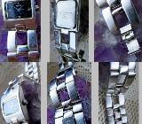 Mein Tip: Edelstahl-Damen-Markenuhr, Edelstahl-Gliederarmband, Batterie neu! - Diepholz