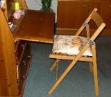 Klappstuhl mit Sitzkissen (Einzelstück) - Wilhelmshaven