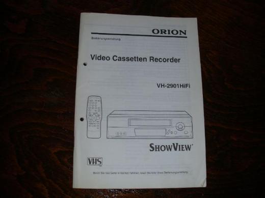 VHS  - Video Cassetten Recorder