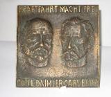 """Gedenkplakette """"Gottlieb Daimler/Carl Benz - Bremen"""