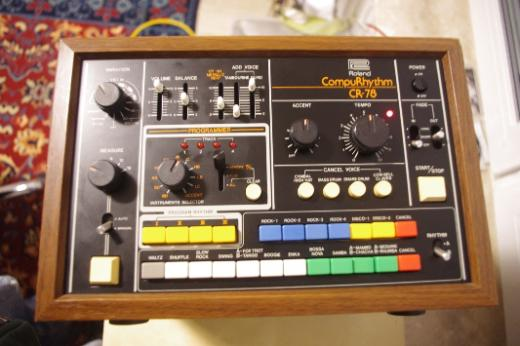 Roland CR-78 Analog Drumcomputer CompuRythm