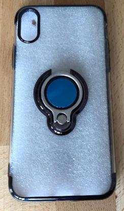 iPhone X Case mit Magneten und Ring