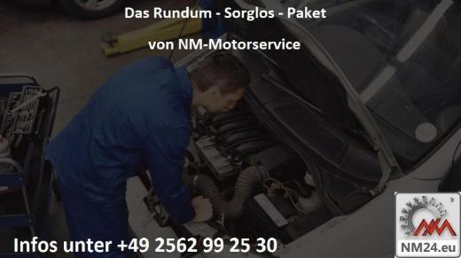Motorinstandsetzung Nissan X-Trail 2.5 Motor QR25DE Sorglospaket