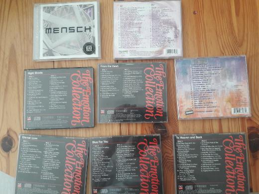 CD,S und  DVD
