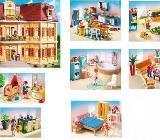PLAYMOBIL 5302 Mein Großes Puppenhaus (Puppenhaus, Einrichtung, Beleuchtung) - Neuenkirchen (Kreis Steinfurt)