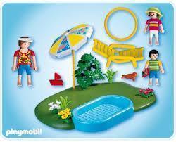 Playmobil 4140 Kompakt-Set Planschbecken