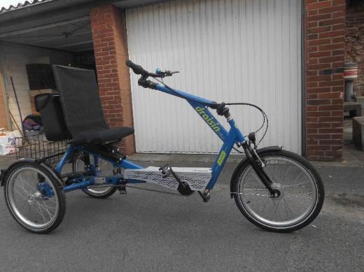 Komfortables und stabiles Dreirad NAGELNEU zu verkaufen