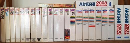 AKTUELL Lexikon Sammlung Jg. 1986 bis 2009