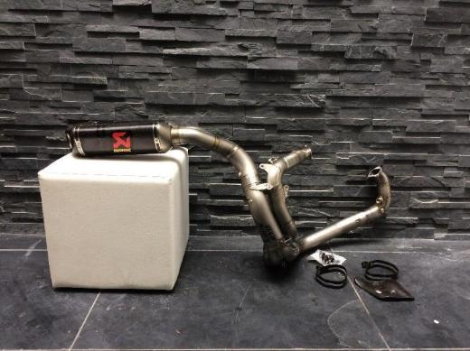 Ducati 1098R 1198 Akrapovic Carbon Titan Auspuff