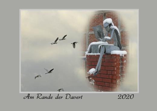 """Fotokalender aus dem Münsterland """"Am Rande der Davert 2020"""""""