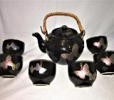 Asiatisches Teeservice mit 6 Tassen - Münster