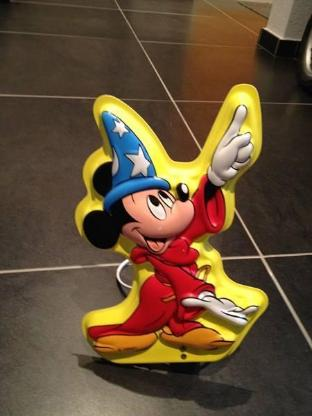Kinderwandleuchte Disney Mickey Mouse