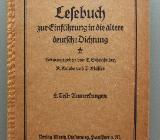 Lesebuch zur Einführung in die ältere deutsche Dichtung. (1925) - Münster