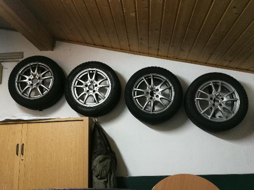 Winterreifen + Alu-Felgen für Mercedes B-Klasse