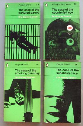Erle Stanley Gardner: 4 Penguin-Krimis (1961+1963, Englisch)