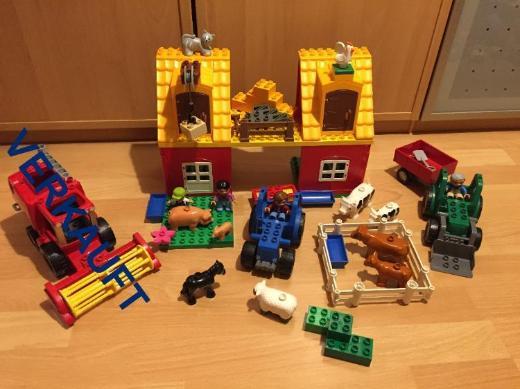Set Lego Duplo großer Bauernhof mit Traktor extra
