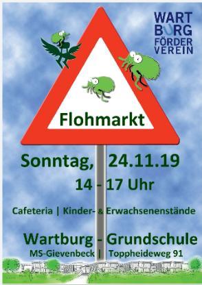 Flohmarkt in der Wartburg- Grundschule