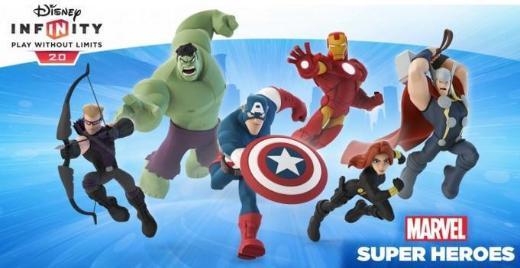 Disney Infinity 2.0 Marvel Super Heros Spiel für Wii U und alle Figuren