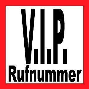 VIP Rufnummer  0160 - 1 1 6 6 6 1 6