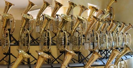 Cerveny Flügelhorn, Tenorhorn, Bariton, Euphonium und Tuba