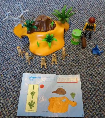 Playmobil Erdmännchenkolonie Zoo 4853