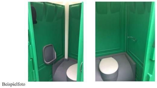 mobile Toilette, WC für die Baustelle anschlussfrei