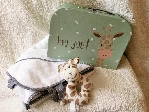 """Geschenkset """"Giraffe"""""""
