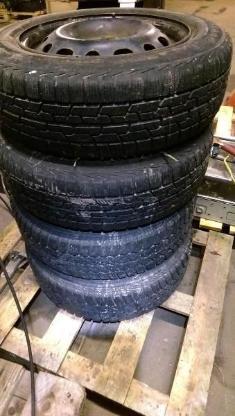 175 65 14  4 - Reifen Winter  Firestone 8/5 mm Winterreifen