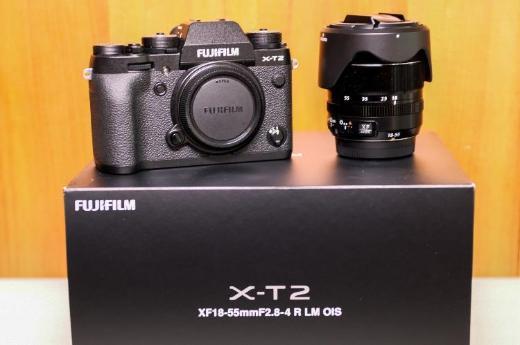 Fujifilm X-T2 Digital-Kamera Fuji 18-55mm 2.8-4 LM OIS XF Objektiv