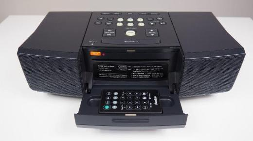 Stereo-Radio/CD-Player Boston Acoustics MicroSystem CD