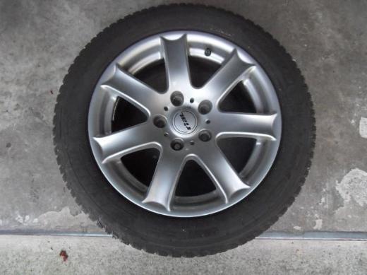 4 BMW Winterreifen Michelin Alpin 5 Größe205/55 R 16 Rial Felge