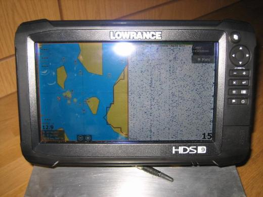 Lowrance HDS 9 Carbon Top Zustand