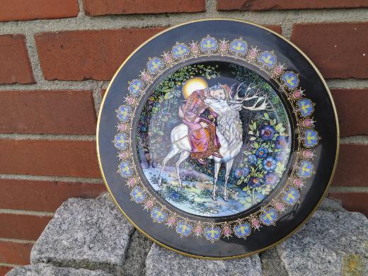 3 dekorative Wandteller von Villeroy & Boch