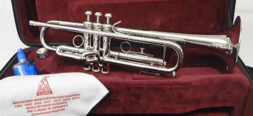 Kühnl & Hoyer Sella Palladium Trompete in B mit Leichtkoffer. Neuware