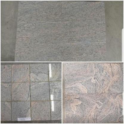 Granit Fliesen Juparana Naturstein Bodenbelag