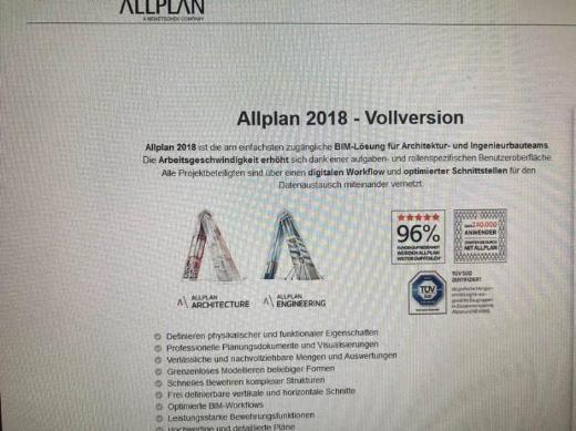 Nemetschek Allplan Architektur 2018, IBD Hochbau und Umbau, Nevaris 2018