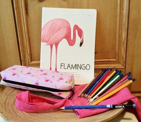 Zeichnen-Set Flamingo