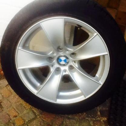 Winterreifen komplett, BMW 520