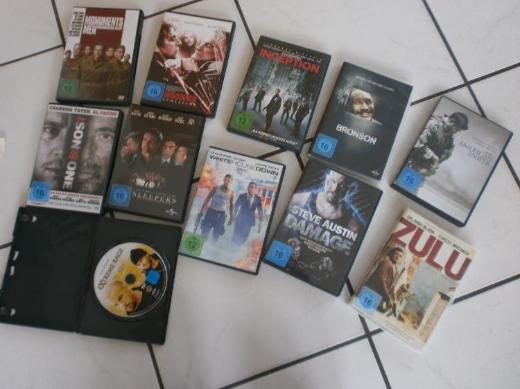 Etliche Action - Thriller - Fantasy - Copmovies - je 2,50 €