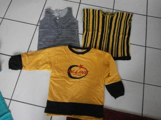 Kleidung Gr. 140-152 - Oberteile je 1-4 €