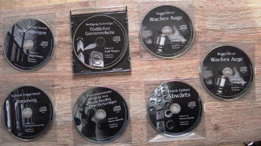 7 Hörbücher auf CD/DVD